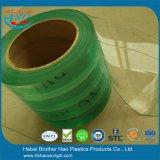 De industriële Uitrustingen van het Gordijn van de Deur van de Strook van de Draad van de Diepvriezer Groene Nylon Vinyl