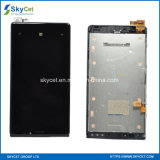 Conjunto original do digitador da tela de toque do indicador do LCD para Lumia 920