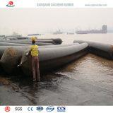 Bom gás que mantem bolsas a ar de borracha marinhas para a tração das embarcações