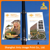 PVC esterno su ordinazione di stampa che fa pubblicità alla bandiera per due il lato (JG-AM2015092402)