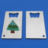 金属のクレジットカードの栓抜きの昇進のギフトのクリスマスのビール瓶のオープナ
