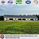Vorfabrizierte helle Stahlrahmen-Gebäude-Halle