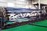 스테인리스 장 관 PVD 티타늄 금 코팅 기계 장비