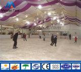 Grande barraca de patins de gelo para evento