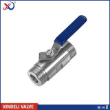2PC Female Threaded Factory Ss304 3000 Wog Ball Valve