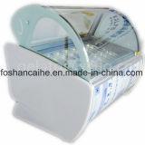Congelatore italiano della visualizzazione del gelato con le vasche libere di Gelato