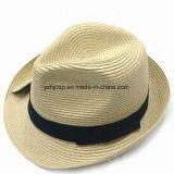 Sombrero de papel de paja Trilby