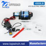 UTV 4WD Treuil électrique à cordes synthétiques (4500LBS-1)
