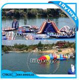 Riesige erwachsene Größen-aufblasbarer Wasser-Aqua-Park