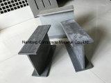 구조 또는 Angel/Y Bar/U 채널 또는 사각 관이 섬유유리에 의하여 Pultruded 윤곽을 그린다