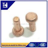 Cobre / Acero Material Recubrimiento remache macizo