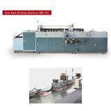 Libro de cinta de papel encolado lateral de la máquina de enlace