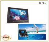 "7 de "" o cabo do monitor 50m TFT LCD 360 graus gira a câmera subaquática dos peixes,"