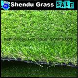 grama artificial do jardim de 2cm com verde bicolor