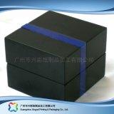 Caixa de empacotamento de couro luxuosa para o cosmético da jóia do alimento do presente (xc-hbg-017)