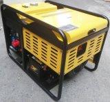 10kw gerador Diesel gêmeo da fase monofásica V portátil