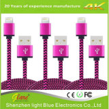 Cubierta de Nylon Cable USB para iPhone