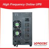 변환장치를 가진 10kVA 9kw 220VAC 192VDC 50Hz 소형 고주파 온라인 UPS