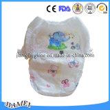 Pañal respirable del bebé del algodón con el absorbente estupendo