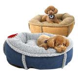 Haustier-Hundewelpen-weiches warmes Bett (bd5006)