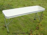 Mesa plegable de metal portátil y silla para camping al aire libre