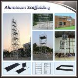 Échafaudage mobile en aluminium de Constructure de poids léger