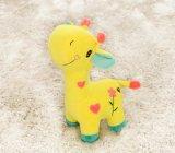Brinquedo adorável para animais de girafa de peluches