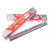 Automático de papel de aluminio y papel de silicio rebobinado de la máquina