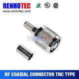 Connettore del connettore TNC di rf per Rg174/Rg178