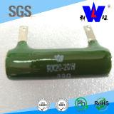 Tube Wire-Wound Resistor, resistor de esmalte Rx20, resistência de alta potência,