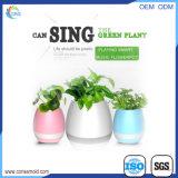 Flowerpot esperto da música do mini altofalante impermeável plástico de Bluetooth