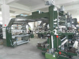Hoge Precisie 4 Kleuren 1200mm Flexographic Machine van de Printer