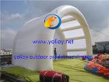 屋外の膨脹可能な空気屋根のテント
