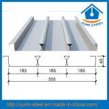 물결 모양 직류 전기를 통한 강철 콘크리트 지면 지원 Decking 장