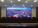 P4 totalmente colorida no interior do gabinete de alumínio display LED digital board