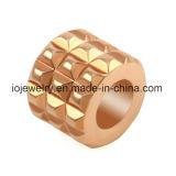 Branelli dell'acciaio inossidabile per il braccialetto di cuoio degli uomini genuini