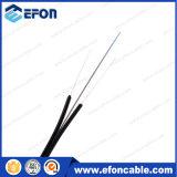 1 2 4 cabo pendente ao ar livre interno da fibra óptica do núcleo G657A1 FTTH