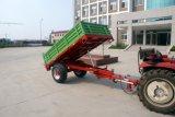 フレームの鋼鉄物質的な農場のトレーラーは熱い販売の12-25HPトラクターのために適している