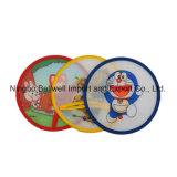 Вентилятор Frisbee изготовленный на заказ цветастого полиэфира печатание дешевого складной