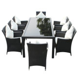 New Arrival Excellect Handcraft Chaises de rotin populaires Dining Sitting Room Outdoor Furniture Chair Table Set
