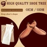 Árbol del zapato de los hombres ajustables naturales puros del diseño de la manera