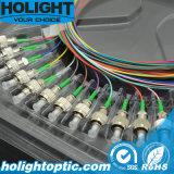 FC/APC espirales de fibra óptica con 12 colores