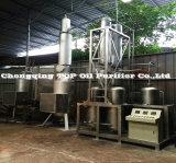 Sistema di riciclaggio residuo ambientale dell'olio di pirolisi del pneumatico, pianta del distillatore dell'olio per motori (EOS)