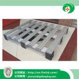 Palete de alumínio de duas vias para o depósito de armazenagem com marcação por Forkfit