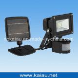 lumière solaire de garantie de 2W SMD DEL avec le détecteur de mouvement
