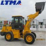 Ltma 새로운 디자인 판매를 위한 2 톤 정원 바퀴 로더