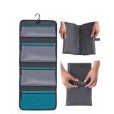 Sac cosmétiques spacieux pour voyage suspendu avec 4 poches