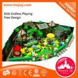 Детский сад ягнится оборудование спортивной площадки Multigame крытое с бассеином шарика