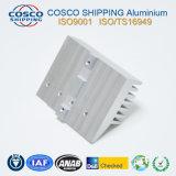 Usinés en aluminium/aluminium dissipateur de chaleur (avec la norme ISO9001 : 2008 certifié & & RoHS anodisé certifié)