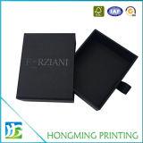 Contenitore di regalo all'ingrosso del documento del cartone del nero del cassetto